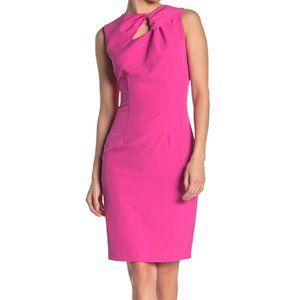 Alexia Admor Keyhole Knotted Neck Sheath Dress 10